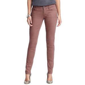 Loft Modern Skinny Jeans Mauve Blush Pink